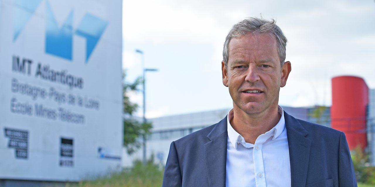 Antoine Sadoux est nommé secrétaire général d'IMT Atlantique