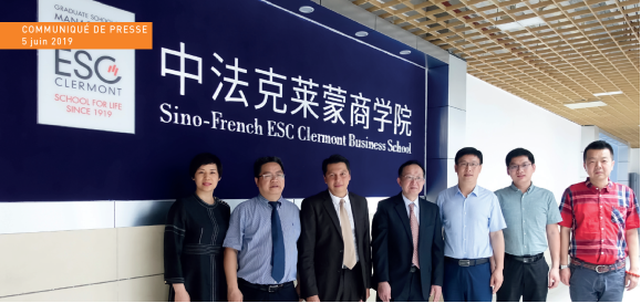 Ouverture d'un Campus Groupe ESC Clermont à Zhuhai en Chine