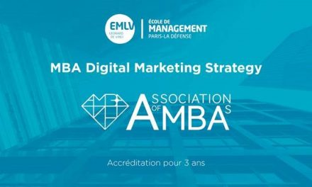 L'EMLV décroche la prestigieuse accréditation AMBA pour son programme MBA Digital Marketing Strategy