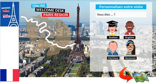 L'UNIF – service interuniversitaire porté par l'université Paris 13 – et ses partenaires lancent une plateforme numérique « Online Welcome Desk Paris Région »