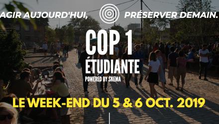 COP1 Etudiante : agir aujourd'hui pour préserver demain les 5 et 6 octobre à la Cité Fertile