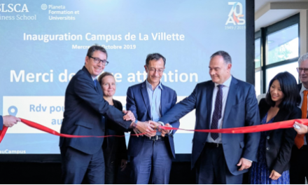 ESLSCA Business School Paris inaugure officiellement son nouveau campus près de la Villette