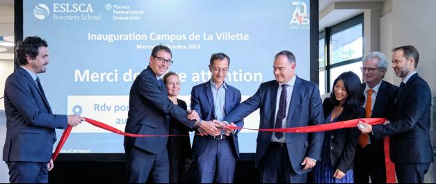 ESLSCA Business School Paris inaugure officiellement son nouveau campus près de la Villette