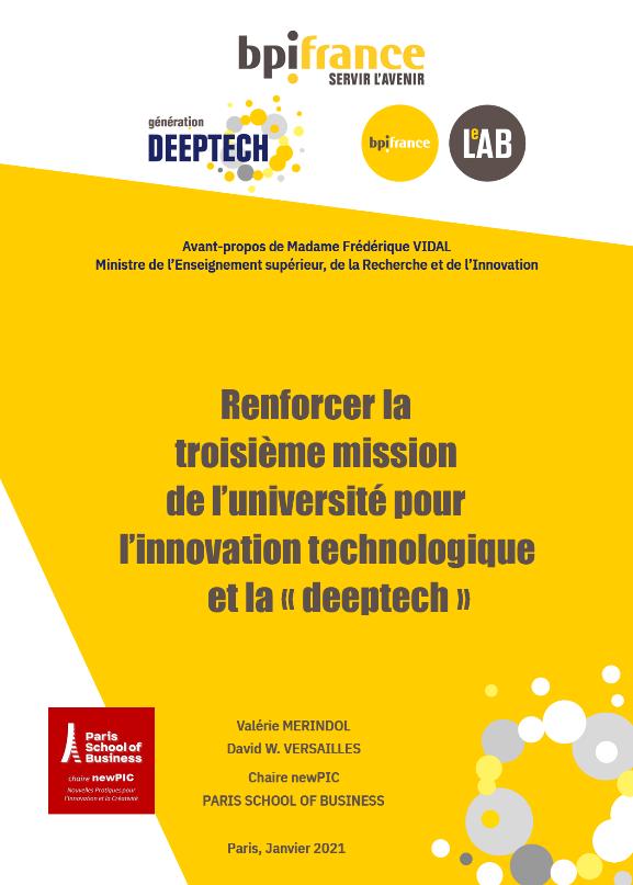 Bpifrance et Paris School of Business publient un livre blanc