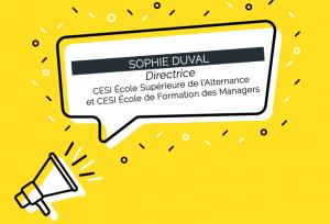 Sophie Duval est nommée directrice de CESI École Supérieure de l'Alternance et CESI École de Formation des Managers (c) adobe stock