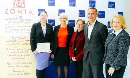 Une étudiante de Montpellier Business School reçoit le prix « Women in Business »du Zonta International