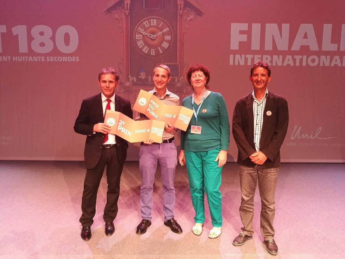 Philippe Le Bouteiller, finaliste français du concours MT180,
