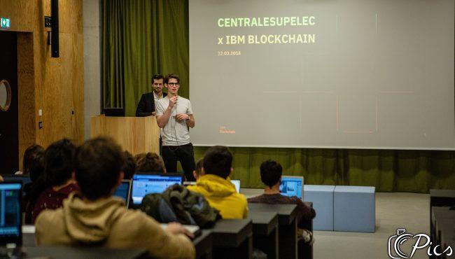 [Une JE à la Une] Junior CentraleSupélec présente la Blockchain à ses étudiants
