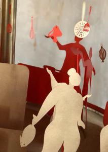 Les étudiants de l'ECV réalisent une oeuvre artistique pour le Chef Philippe Etchebest