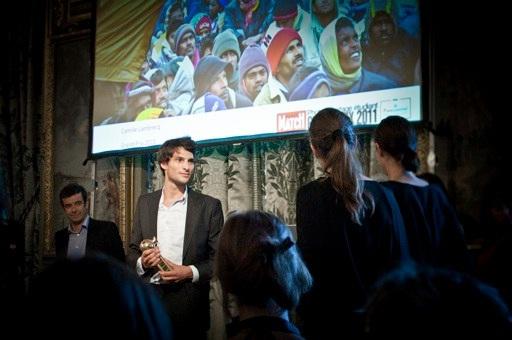 Un étudiant de Sup de Co La Rochelle reçoit le Prix Paris Match Photoreportage
