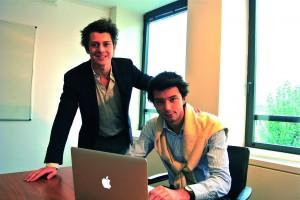 Deux copains d'ESCP Europe  à l'initiative de Prépa First