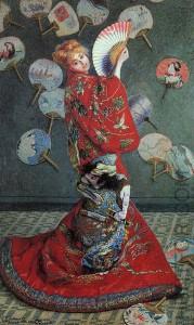 Claude Monet - Madame Monet en costume japonais