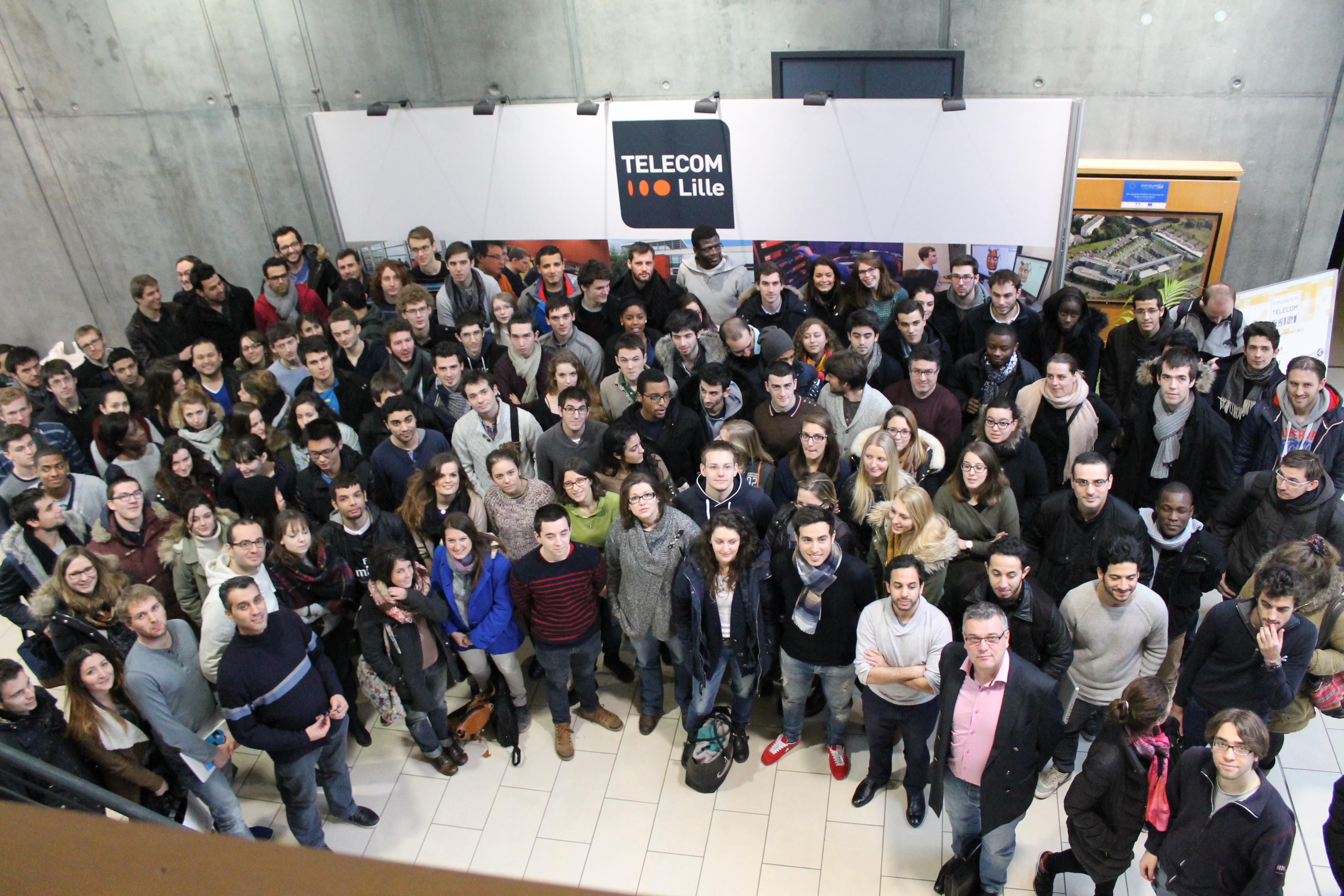 C'est parti pour la 9e édition du Challenge Projet d'Entreprendre à Télécom Lille !