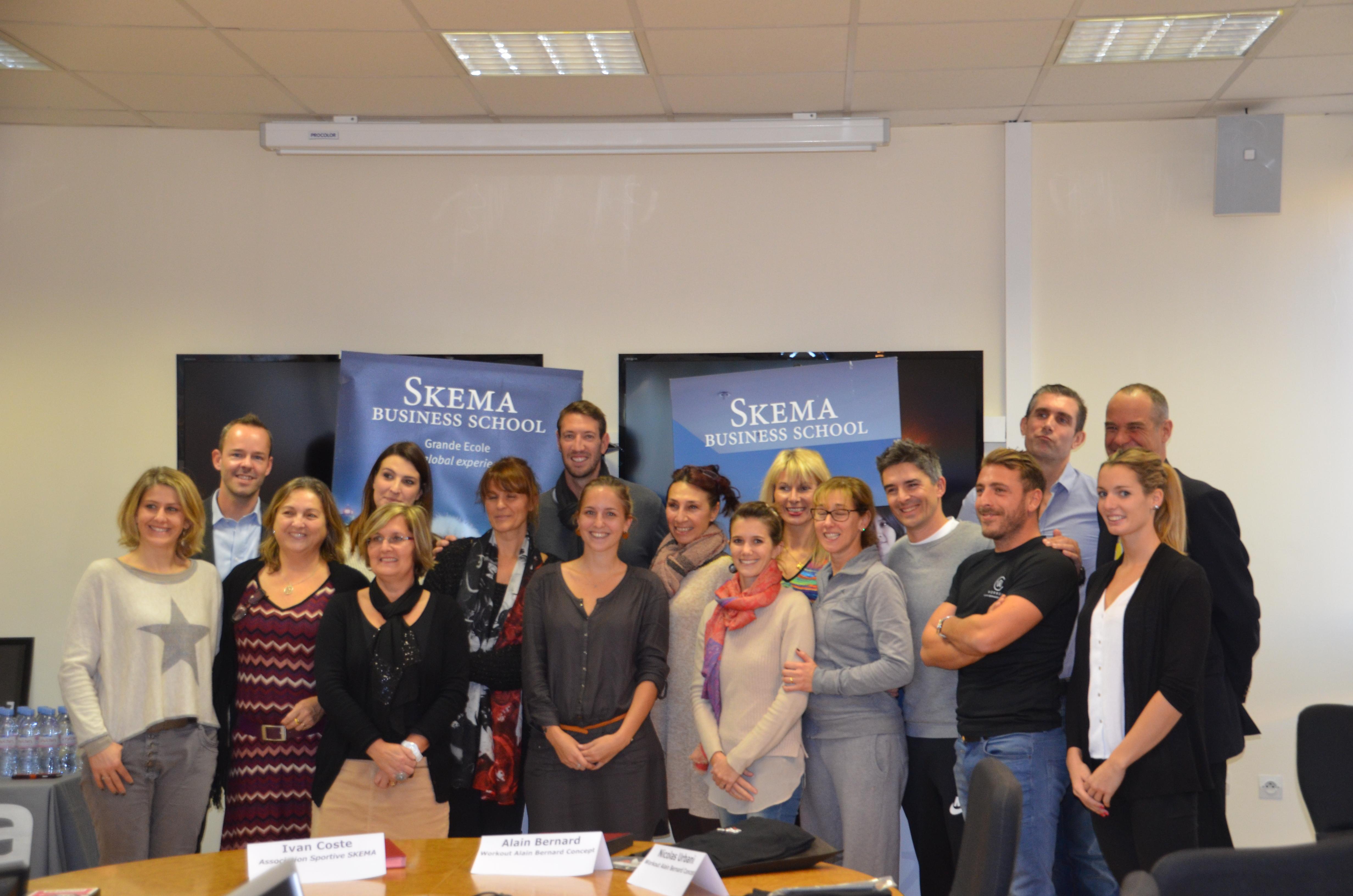 Alain Bernard s'engage aux côtés de l'Association Sportive de SKEMA BS