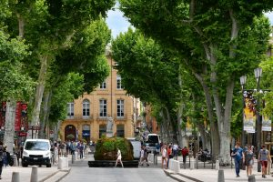 Les Promenades sonores sont également possibles à Aix-en-Provence.