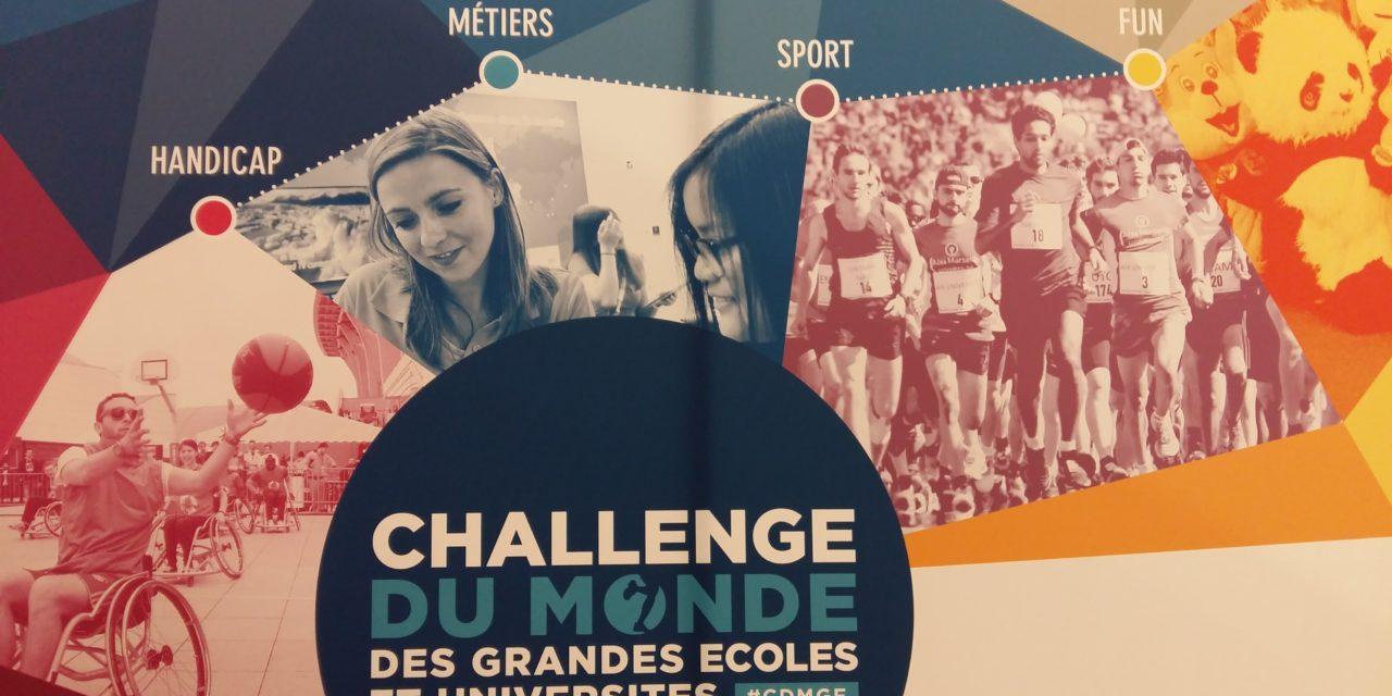 C'est parti pour la 9ème édition du Challenge du Monde des Grandes Écoles et Universités !