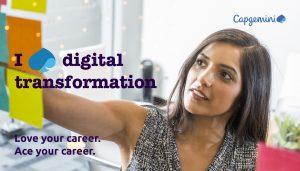 Avec Capgemini, l'avenir se veut digital et humain