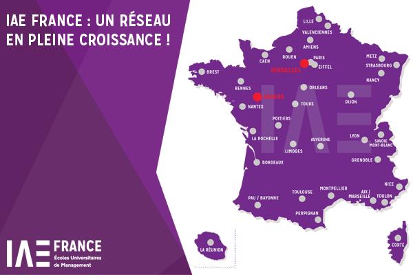 IAE FRANCE : un réseau en pleine croissance !