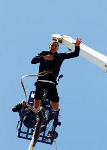 L'activité phare du TOSS : le saut à l'élastique !