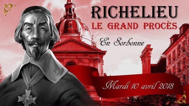 Trois siècles après sa mort, Richelieu jugé en Sorbonne par des étudiants !
