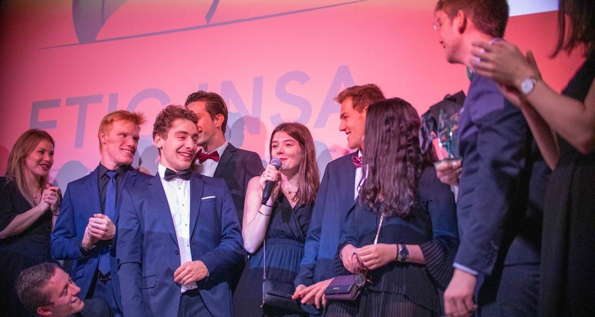 La Junior-Entreprise de l'INSA Lyon conserve sa position de meilleure Junior-Entreprise