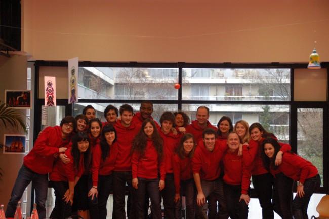 La troupe de la CoMu 2011