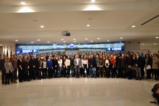 ISA Lille : Des étudiants de l'école invités au Parlement Européen de Bruxelles pour réfléchir à l'agriculture de demain !