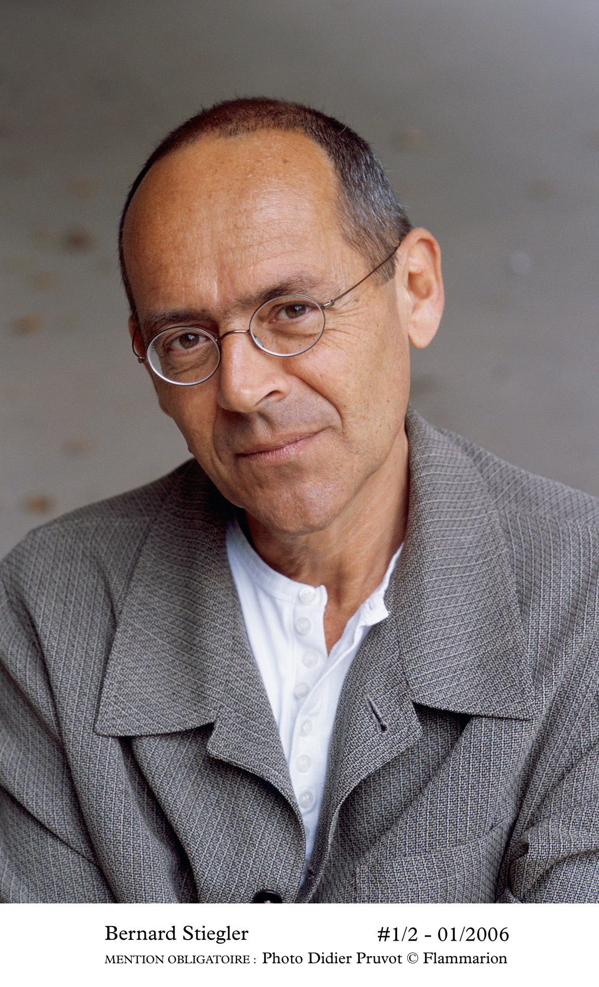 Rencontre avec Bernard Stiegler