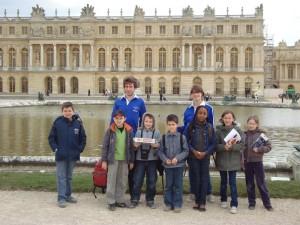 Sortie à Versailles en mars 2010
