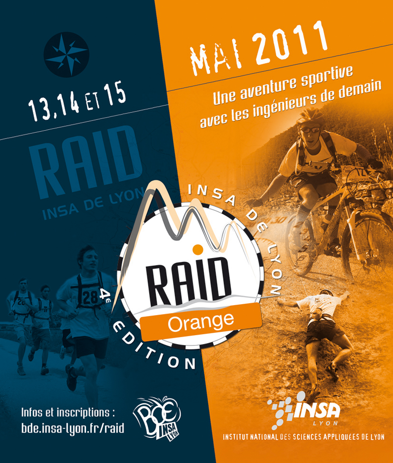 RAID INSA LYON – ORANGE : l'aventure continue !