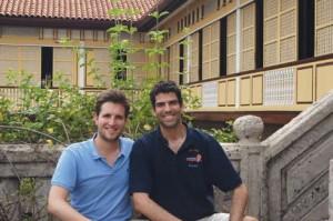 Jonas Guyot et Matthieu Dardaillon du projet Destination Changemakers