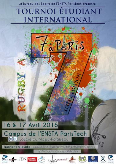 Tournoi de rugby à 7 : la XIXème édition de « 7 à Paris »
