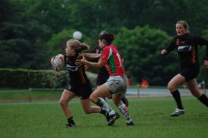Le rugby se conjugue également au féminin, avec ici l'équipe de Belgique.