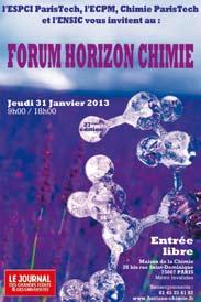 Industriels et étudiants se retrouvent à la 27e édition du Forum Horizon Chimie