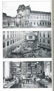 Façade, Cour principale et Bibliothèque de ESCP Europe