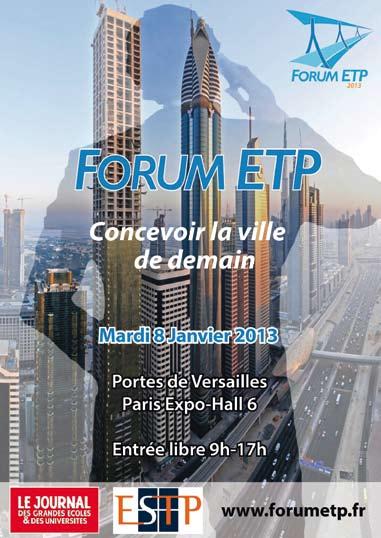 33e édition du Forum ETP