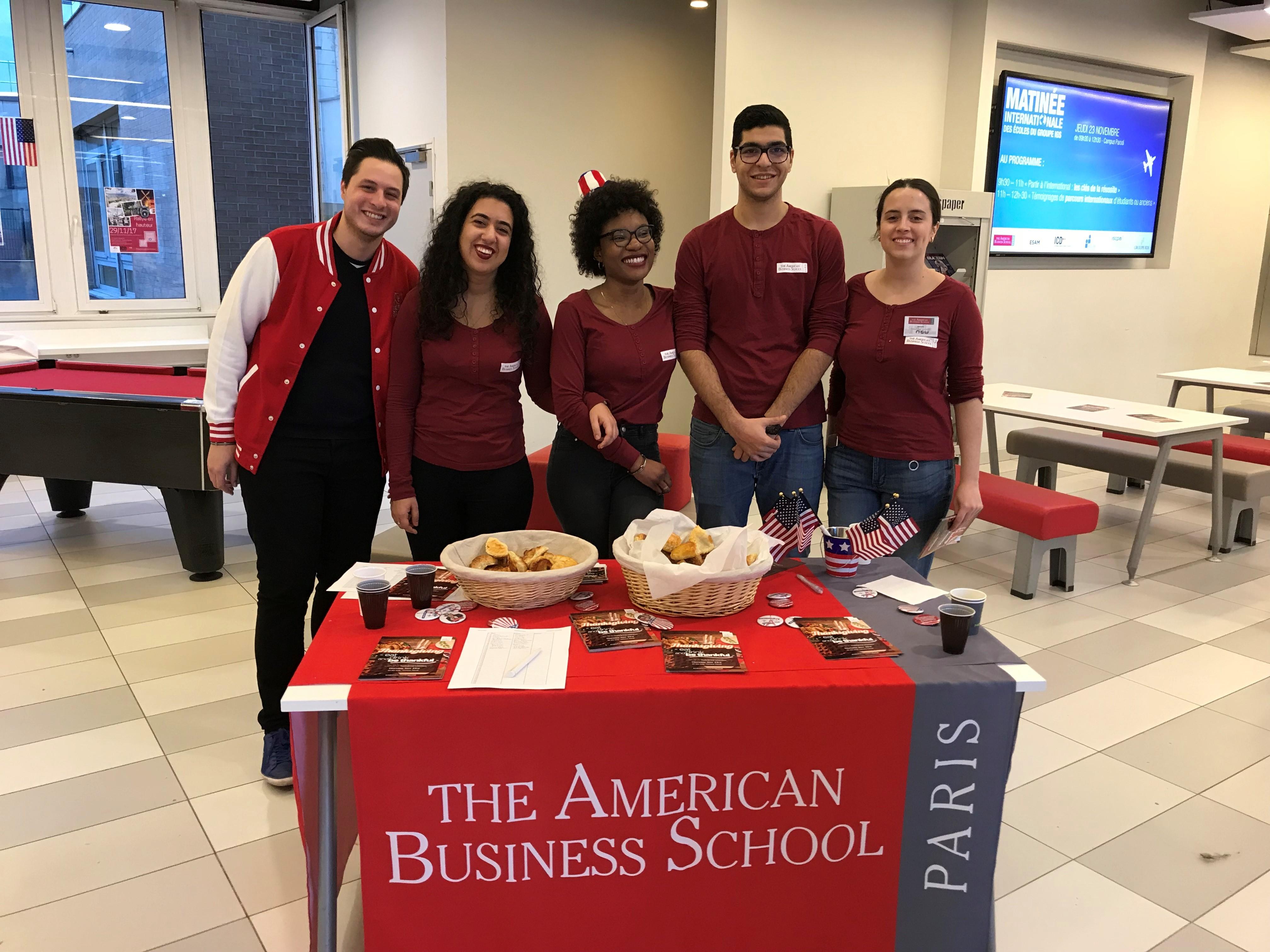 L'American Business School accueille des étudiants de 80 nationalités