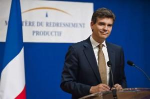 Arnaud Montebourg ministre du Redressement productif