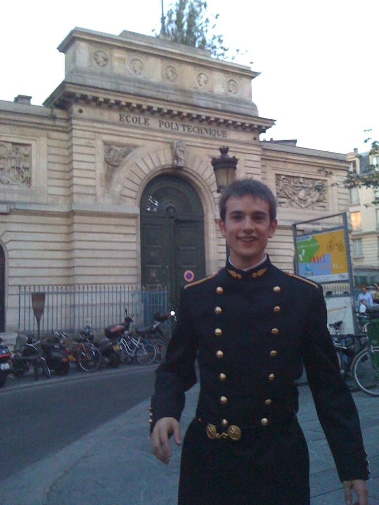 Pierre Desjardins, un étudiant hors du commun
