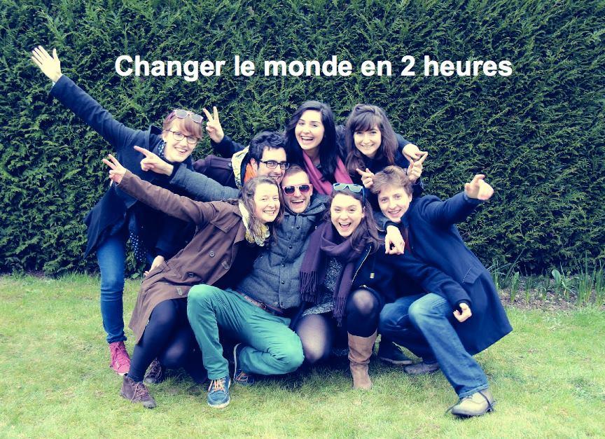 Changer le monde en deux heures … Top chrono.