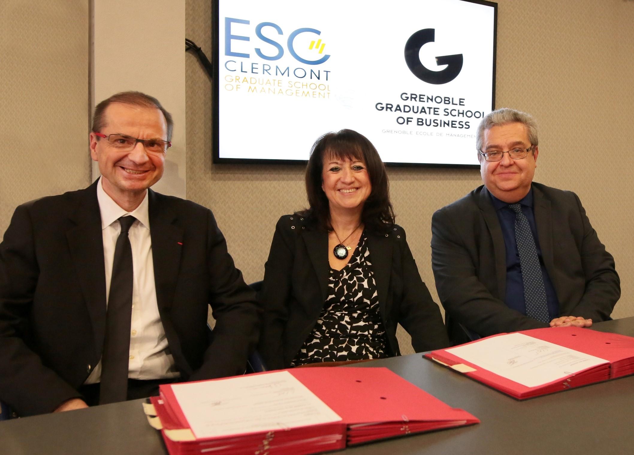 Grenoble Ecole de Management ouvre deux programmes de formation à l'ESC Clermont