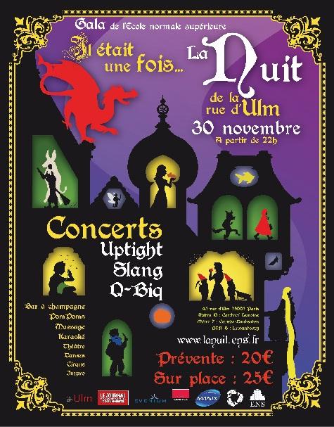 Gala de l'ENS : Il était une fois la Nuit de la Rue d'Ulm…