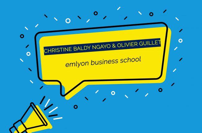 emlyon business school enrichit son équipe de direction et nomme Christine Baldy Ngayo et Olivier Guillet