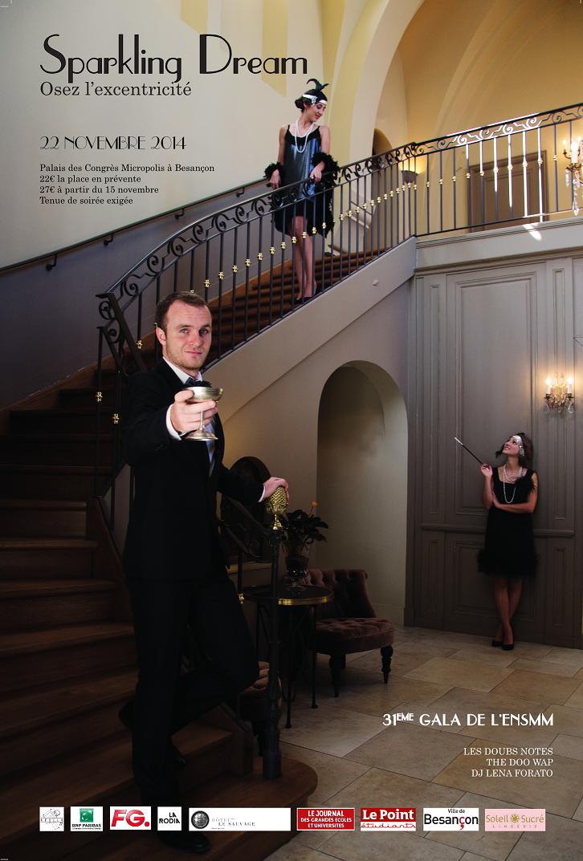 Le Gala ENSMM 2014, une 31e édition qui vous mènera au cœur des années folles !