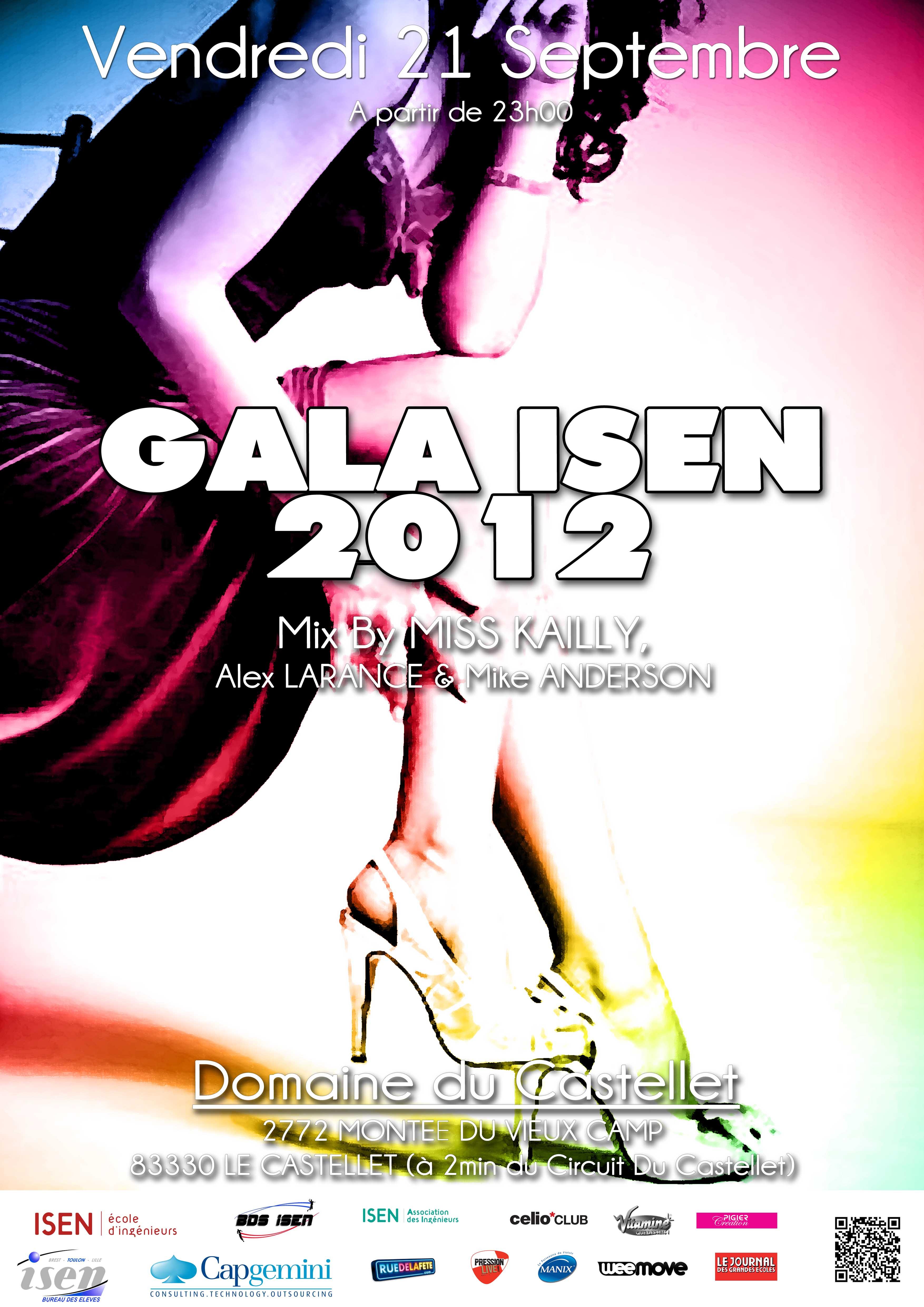 Quand le prestige s'associe à la fête, Gala ISEN-Toulon 2012