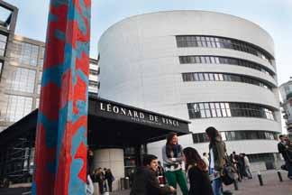 Le Groupe Léonard de Vinci, un campus en pleine City !