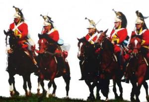 La cavalerie de Ney à Waterlo