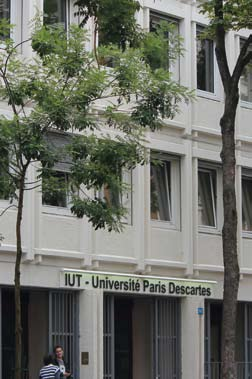 L'IUT Paris Descartes