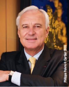 Bernard Fornas (EMLyon 70 et Northwestern University 72) est Président et CEO de Cartier International.