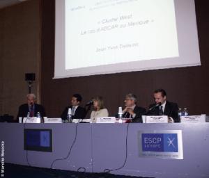 De g. à d., Jean-Yves Delaune, Felix Cardenas del Castillo, Florence Pinot, Luc Miguérés et Charles-Henry Chenut